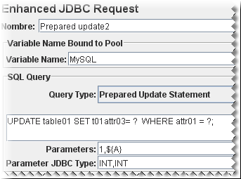 Enhanced JDBC Sampler Screenshoot